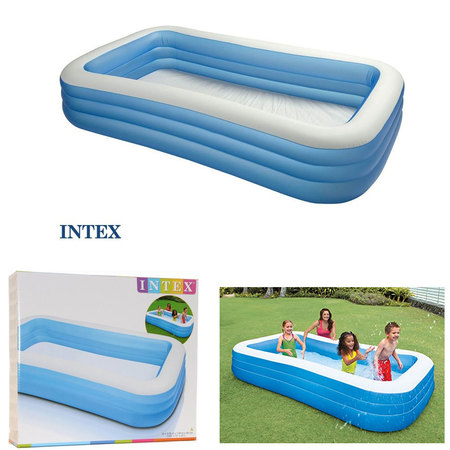 PISCINE INTEX RECTANGULAIRE FAMILY 305 X 183 CM 58484NP