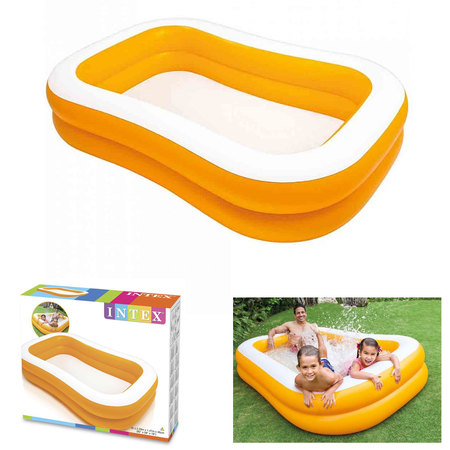 PISCINE INTEX SWIM CENTER 229 X 147 X46 CM 57181NP
