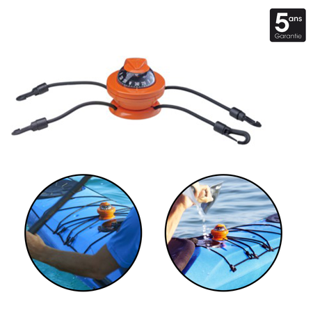 COMPAS POUR KAYAK OFF 55 KAYAK ORANGE Z/ABC P63856