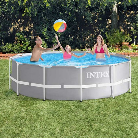 PISCINE TUBULAIRE INTEX RONDE PRISM FRAME 3,66 X 0,99 M 26716NP
