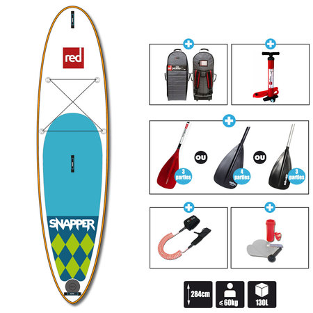 SUP RED PADDLE 9.4 SNAPPER 2016