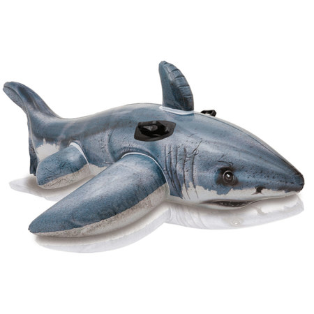 GRAND REQUIN BLANC A CHEVAUCHER 57525NP