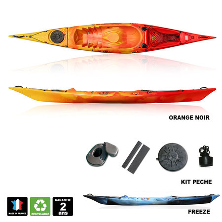 KAYAK PECHE RTM FISHING DISCO +