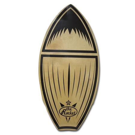 SKIMBOARD SKIM ONE THE ROCKET WOOD 42