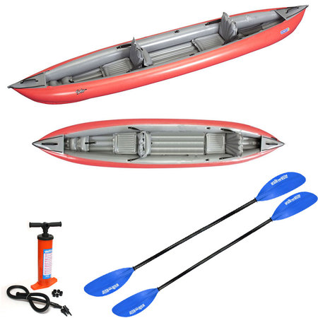 PACK KAYAK GUMOTEX SOLAR 410 RED SOLAR 410C