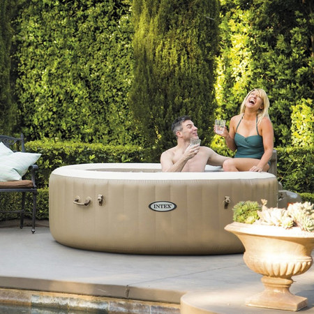 SPA GONFLABLE INTEX PURESPA BULLES 4 PERSONNES 28404EX