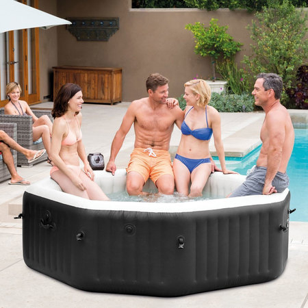 SPA GONFLABLE INTEX PURE SPA JETS ET BULLES 6 PLACES 28456EX