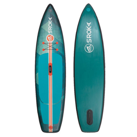 PADDLE GONFLABLE SROKA ALPHA RIDE FUSION VERT 11.0 X 32 2020