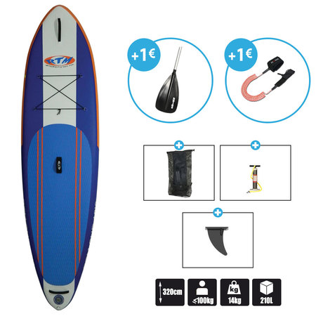 SUP GONFLABLE 10.6 ROTOMOD STAND UP PADDLE