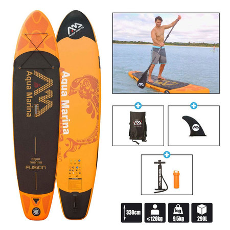 STAND UP PADDLE GONFLABLE AQUAMARINA FUSION 11.0