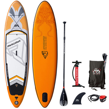 PACK SUP GONFLABLE AQUA MARINA MAGMA 10.10 + THRIVE 10.4 2019