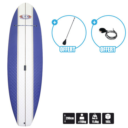 SUP ROTOMOD MOUSSE 9.6 + PAGAIE + LEASH