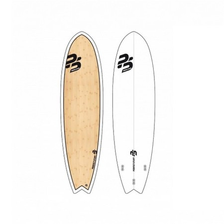 SURF PERFECT STUFF 6.4 FISH WHITE GLOSS