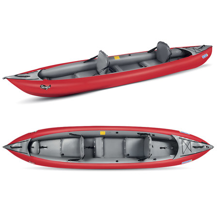 KAYAK GUMOTEX THAYA 2 PLACES CONVERTIBLE ROUGE