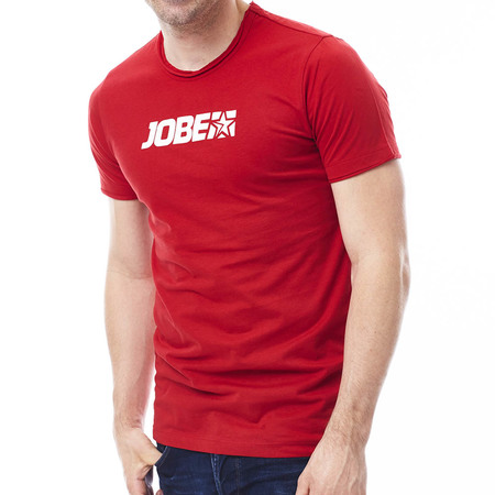 T-SHIRT JOBE PROMO HOMME ROUGE