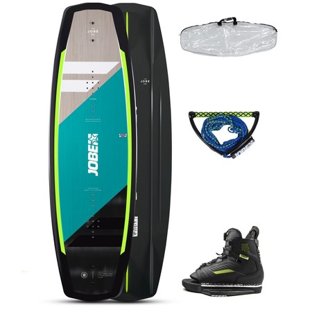 PACK WAKEBOARD JOBE VANITY 141 & CHAUSSES UNIT 2021