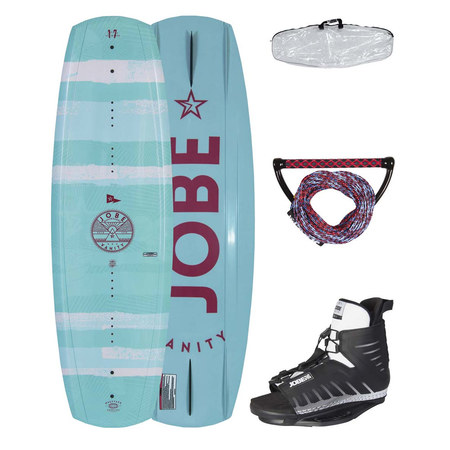 WAKEBOARD JOBE VANITY WOMAN 131 & UNIT PACKAGE