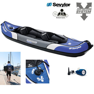 KAYAK GONFLABLE SEVYLOR COLORADO PREMIUM