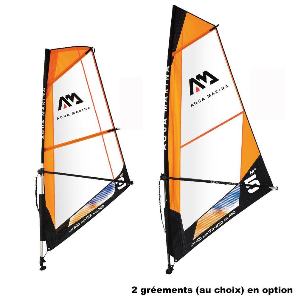 Paddle Aqua Marina Blade 10 6 2021 Windsurf Paddle Gonflable Windsup Aqua Marina