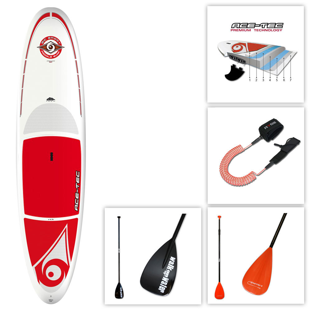 bic ace tec performer 11 6 stand up paddle pas cher en vente sur stock. Black Bedroom Furniture Sets. Home Design Ideas