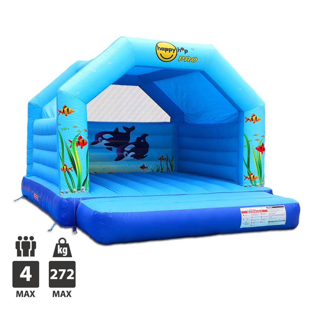 chateau gonflable happy hop aquarium super bouncer pas. Black Bedroom Furniture Sets. Home Design Ideas