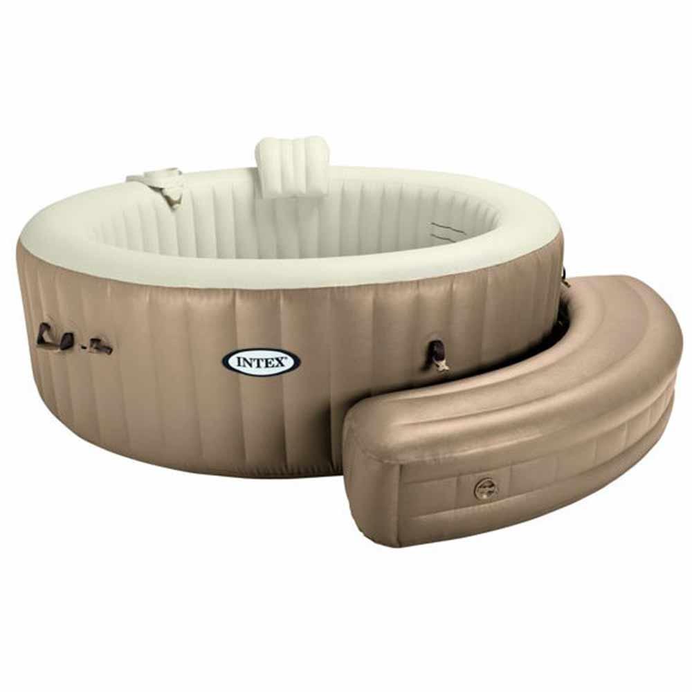 entourage gonflable pour pure spa intex 4 et 6 places pas cher en vente sur stock. Black Bedroom Furniture Sets. Home Design Ideas