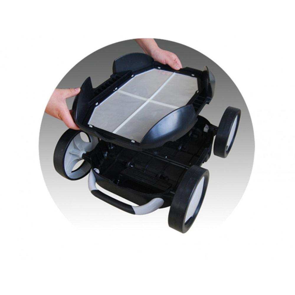 robot electrique piscine falcon hj1007 av batterie pas cher en vente sur stock. Black Bedroom Furniture Sets. Home Design Ideas