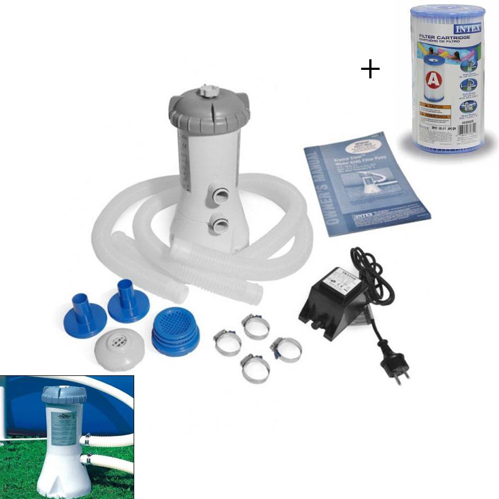Filtre pour piscine epurateur a cartouche 3 8 m3 h c3 8 - Cartouche filtre piscine magiline ...