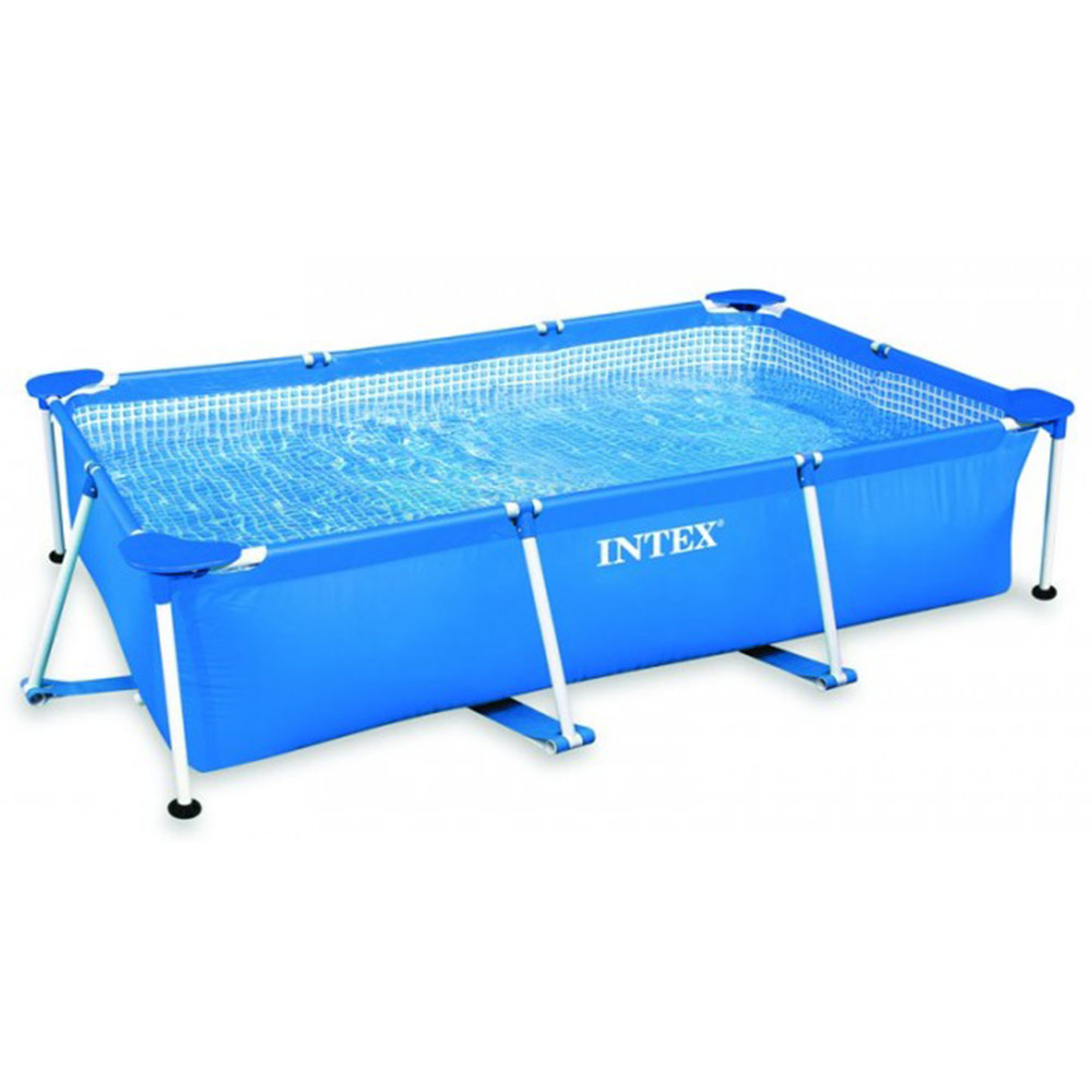 Piscine tubulaire intex metal frame 2m60 x 160cm x 65cm for Trouver fuite piscine intex tubulaire