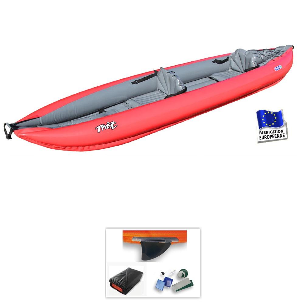 Kayak gonflable gumotex twist 2 exposition pas cher en vente sur stock naut - Kayak gonflable pas cher ...