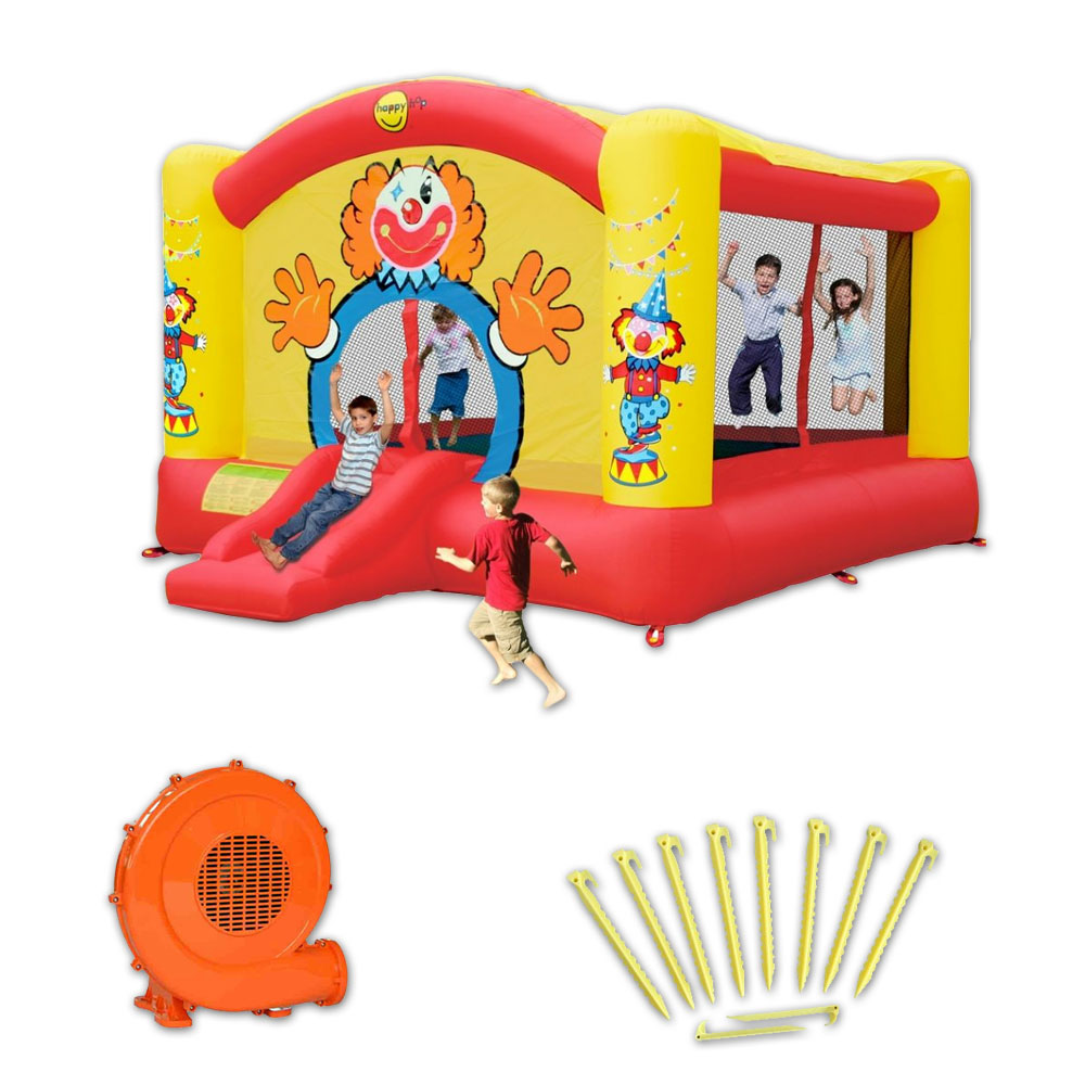 Chateau gonflable happy air big clown pas cher en vente sur stock nautigame - Vente chateau gonflable ...