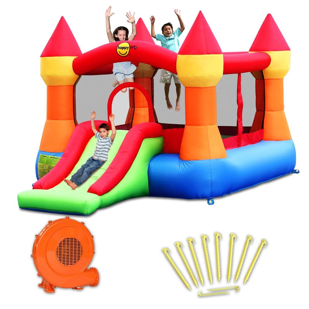 chateau gonflable happy hop castello pas cher en vente sur. Black Bedroom Furniture Sets. Home Design Ideas