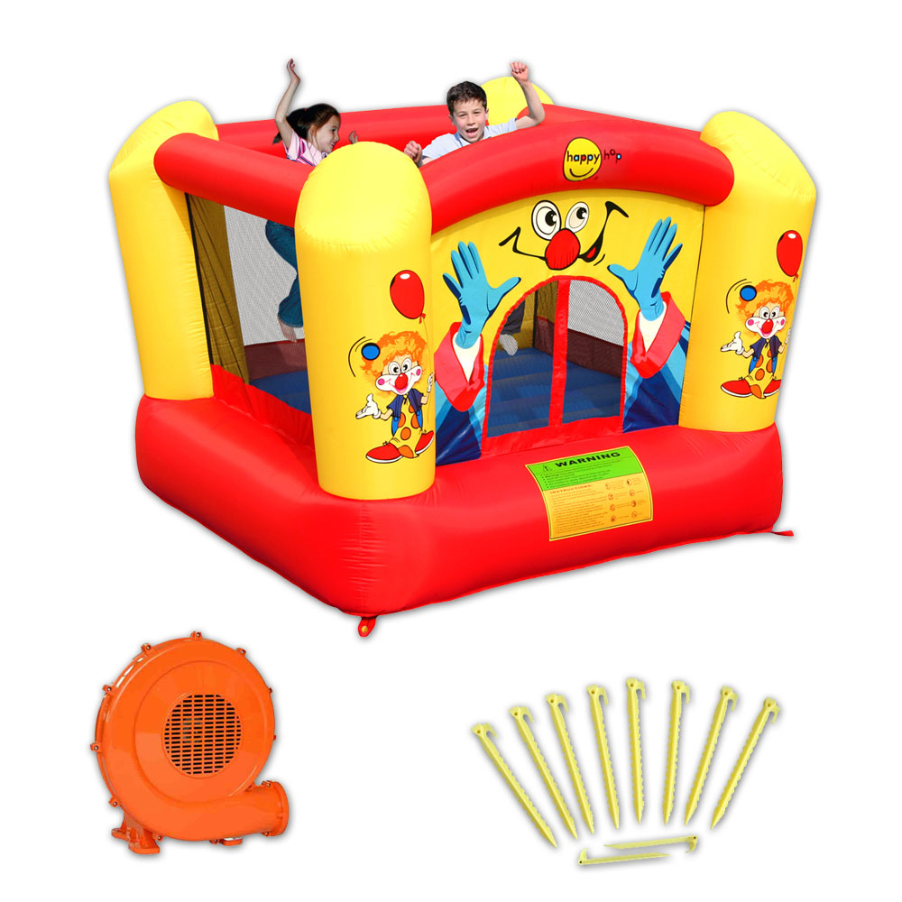 Chateau gonflable happy hop clown pas cher en vente sur stock - Vente chateau gonflable ...