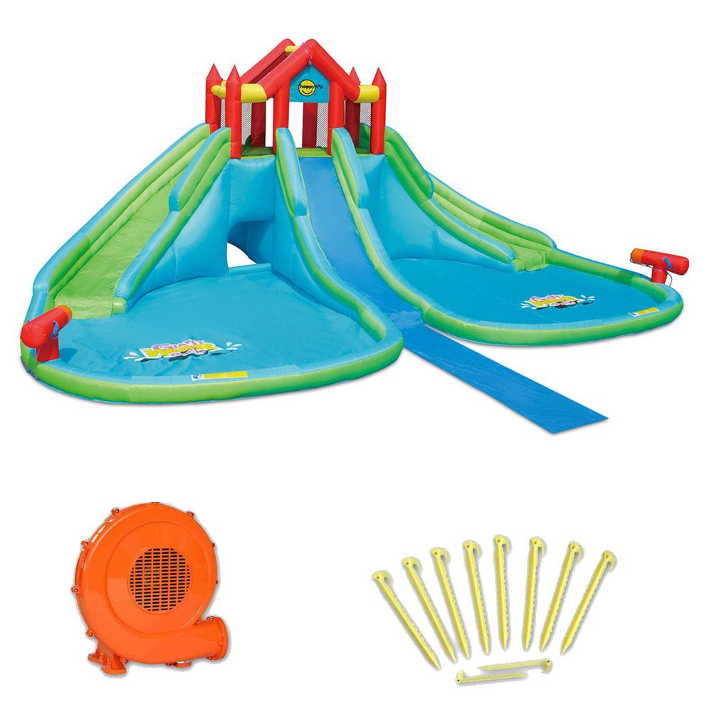 Aire de jeux gonflable happy air gigante acquatico pas cher en vente sur stock - Aire de jeux gonflable pas cher ...