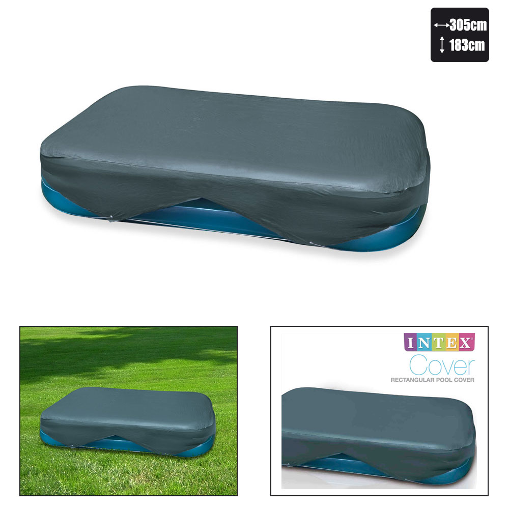 Bache de protection pour piscine intex x pas for Bache piscine intex 3 05