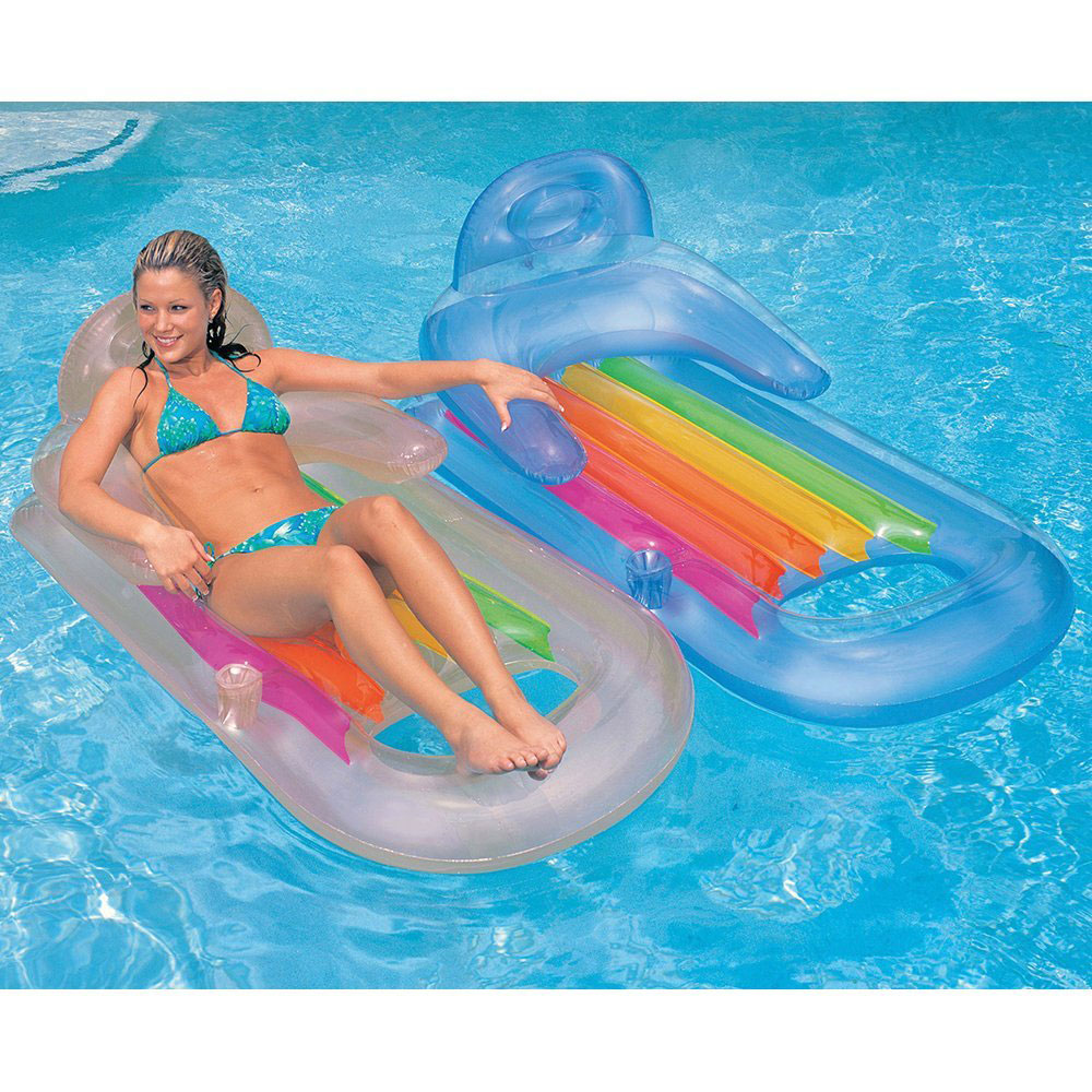 siege de piscine intex king cool loung 58802 pas cher en. Black Bedroom Furniture Sets. Home Design Ideas