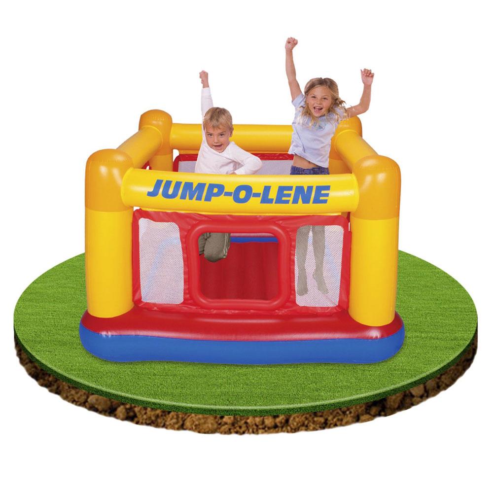 chateau gonflable intex playhousse jump o lene 48260 pas cher en vente sur stock. Black Bedroom Furniture Sets. Home Design Ideas