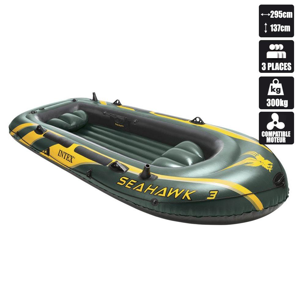 Bateau gonflable intex seahawk 3 pas cher en vente sur stock - Annexe gonflable pas cher ...