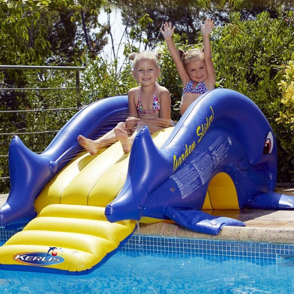 Toboggan gonflable kerlis pas cher en vente sur stock for Accessoire piscine 33