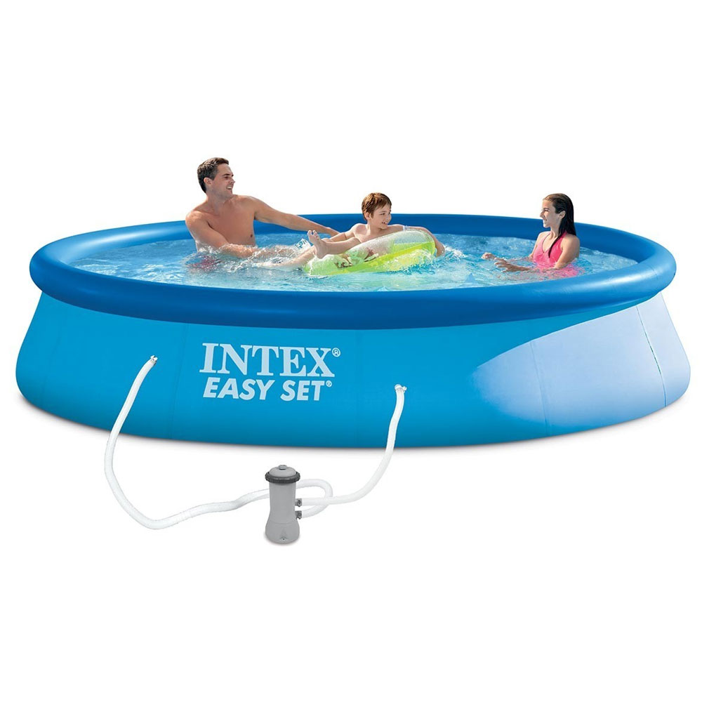 Piscine easy set x m epurateur intex pas for Piscine intex 3 66