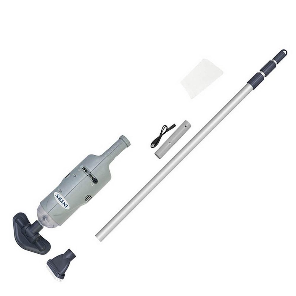 aspirateur de piscine ou spa intex a batterie rechargeable. Black Bedroom Furniture Sets. Home Design Ideas