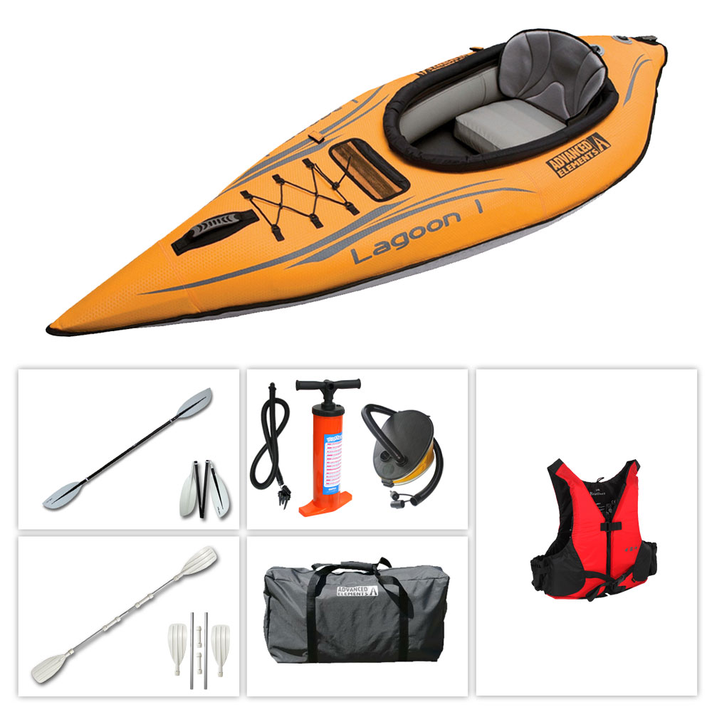 Kayak advanced elements lagoon 1 kayak gonflable - Kayak gonflable pas cher ...