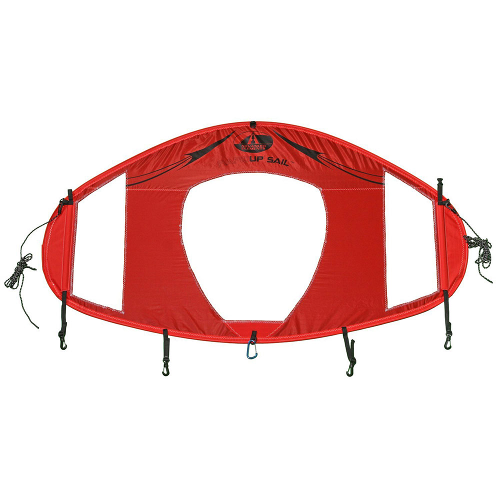 Voile instantanée pour kayak de canoë de kayak rouge Bateau Gonflable Surfboard