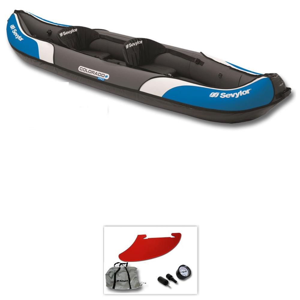Kayak sevylor colorado pas cher en vente sur stock - Kayak gonflable pas cher ...