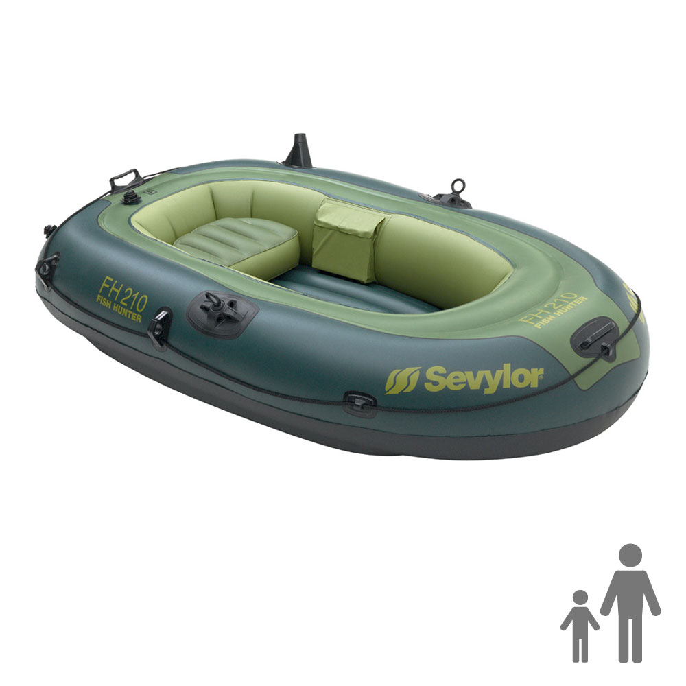 Bateau gonflable sevylor fish hunter fh210 for Sevylor piscine