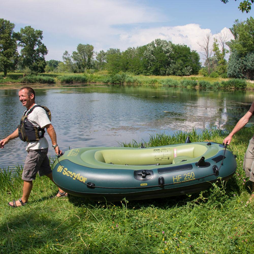 bateau gonflable sevylor fish hunter fh250 pas cher en vente sur stock. Black Bedroom Furniture Sets. Home Design Ideas