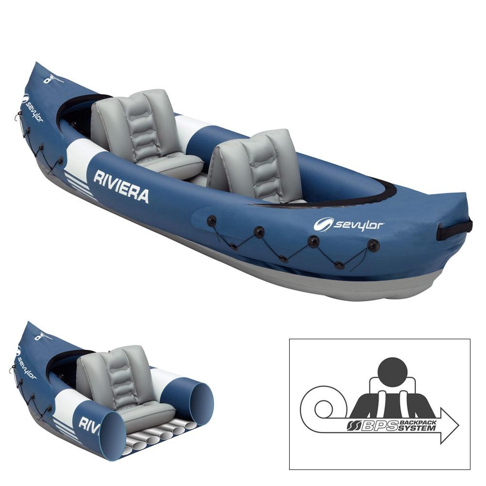 Kayak sevylor riviera pas cher en vente sur stock for Sevylor piscine