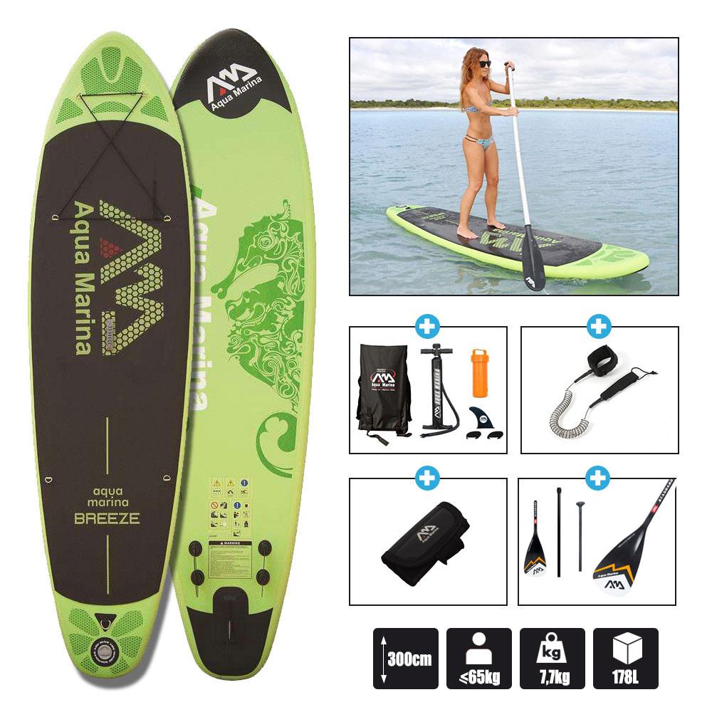 stand up paddle aqua marina breeze sup gonflable. Black Bedroom Furniture Sets. Home Design Ideas